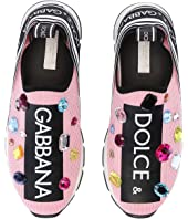 Dolce & Gabbana Kids - Jeweled Sneaker (Little Kid/Big Kid)