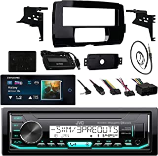 Audio Bundle for 2014 and Up Harley - MP3/USB/AUX Marine Bluetooth Audio Receiver Combo with Installation Dash Kit for Motorcycles, SiriusXM Radio Tuner, Enrock 22 Wired AM/FM Antenna