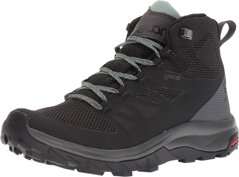 Max 59% OFF Salomon OUTline Spasm price GTX Mid Shoes Women's Hiking