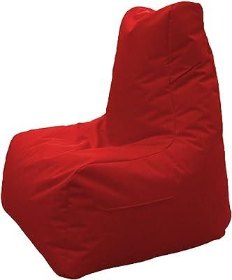 GAMEWAREZ Crimson Thunder 2.0 Gaming Sitzsack, Made in