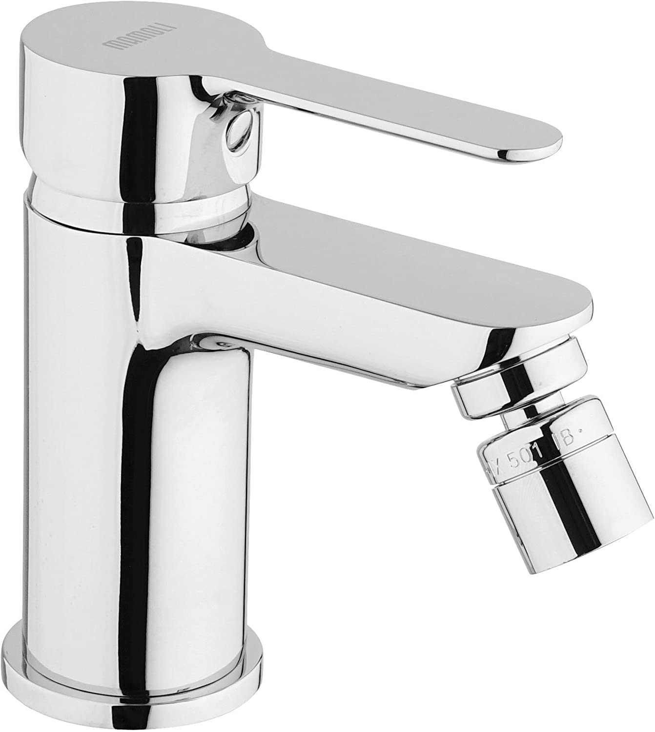 Mamoli 5061h130?N151?Bidet Single-Lever Mixer, Chrome