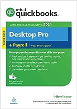 Intuit QuickBooks Desktop Pro + Payroll 2021 [PC Download]