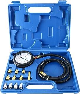 8MILELAKE Engine Oil Pressure Tester Gauge Diagnostic Test Kit 500PSI with Case