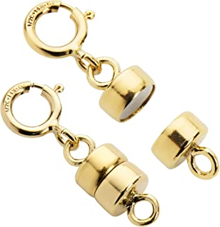 14k yellow gold magnetic clasp