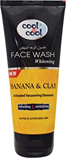 Cool & Cool Whitening Face Wash for Men, 75 ml