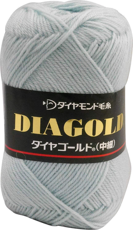 Hiromi House Japan Diamond gold wool FINE col.365 bluee 50 g 200 m 5 ball set