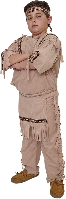 Native American Indian Boy Costume Size Medium