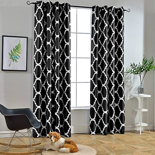 Black and White Curtains for Living Room: Amazon.com