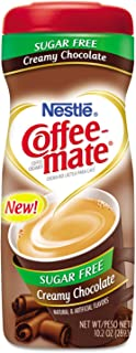 Coffee-mate Coffee Creamer Sugar Free Creamy Chocolate, Pack of 1 (10.2 Ounce)