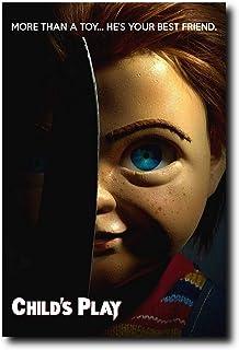 Child/'s Play 2019 Horror Movie Art Silk Cavas Poster Print 24x36/'/'Home Decor