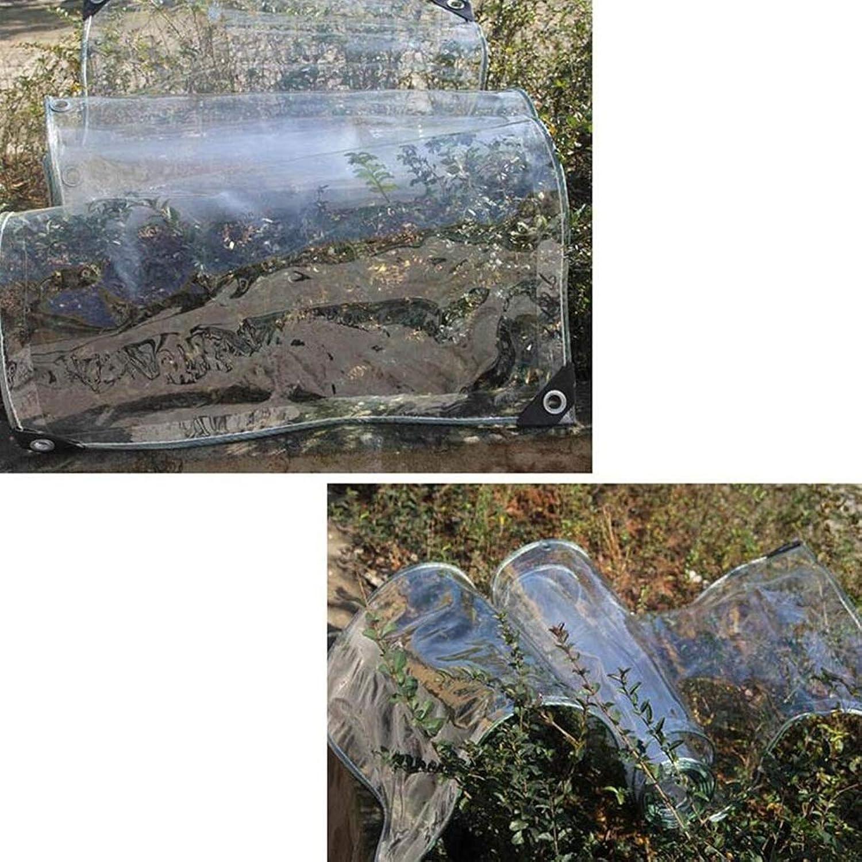 ZXWDIAN Im Freien Transparenter regensicherer Stoff-Sunshine House Plant verschüttete transparente Plane Zelt Auto Waschraum Vorhang Poncho Wasserdichte Abdeckung B07MVZK1MM  Bekannt für seine schöne Qualität