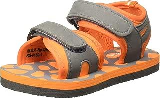 Chalk by Pantaloons Boy's Orange Outdoor Sandals-9.5 Kids UK (28 EU) (880000982)