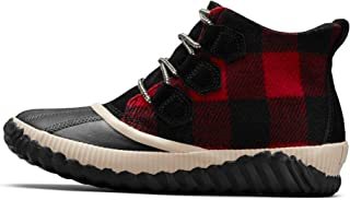duck boots plaid inside