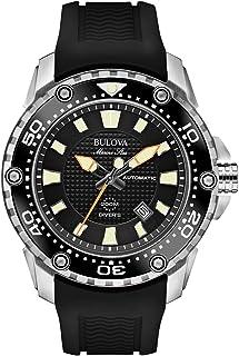 Bulova - Reloj analogico para Hombre de automático con Correa en Caucho 98B209
