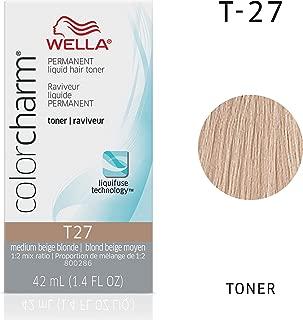 Wella Color Charm T27 Medium Beige Blonde Color Charm Toner