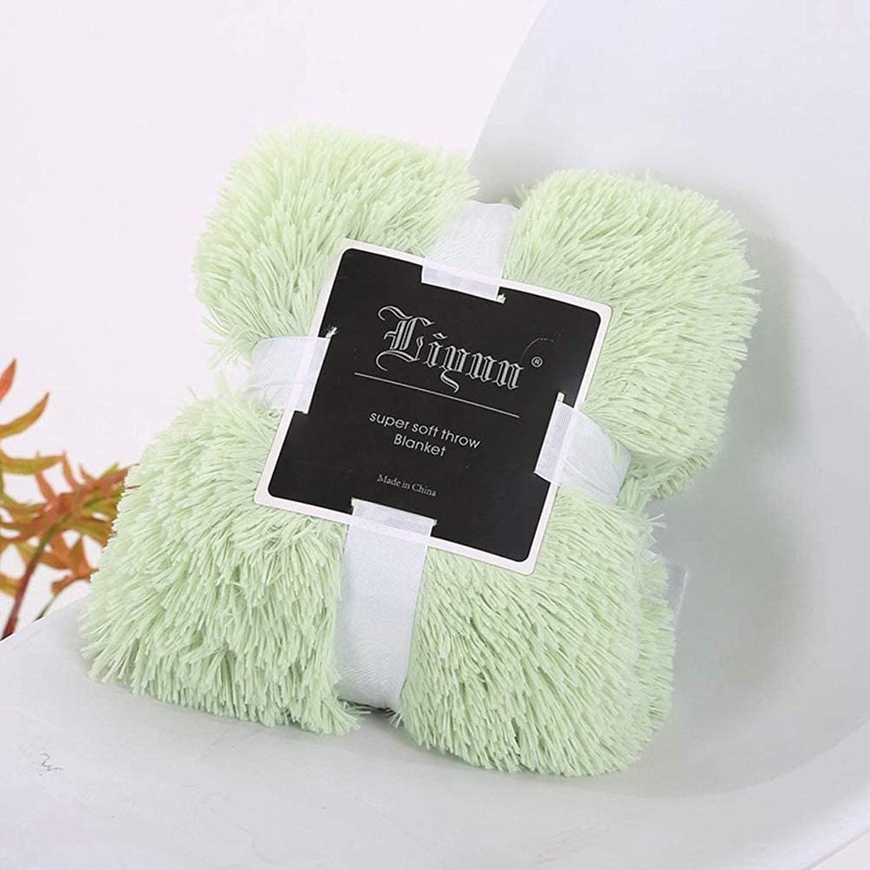 HZYDD Super Soft Throw Luxury Fur Bargain Faux Plush Blanket Fuz At the price