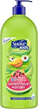 Suave Kids 3 in 1 Shampoo Conditioner Bodywash For Tear-Free Bath Time Watermelon Wonder Dermatologist-Tested 40 oz
