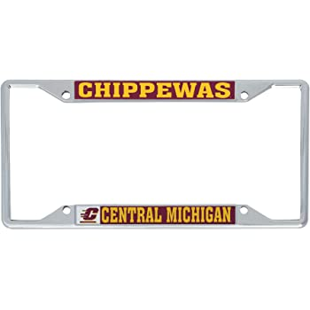 Rico NCAA Central Michigan Chippewas Laser Cut License Plate