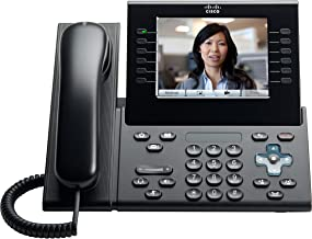 CP-9971-C-K9= Cisco Unified Voip 9971 Phone Charcoal (Renewed)