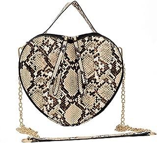 In ecopelle oro Amore Cuore Stud Con Borchie Lunga Borsetta con zip wallet