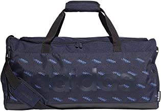 adidas Unisex Linear Core Medium Gfx Duffel Bag, Legend Ink/Black/Legend Ink