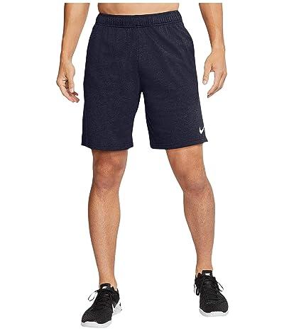 Nike Big Tall Dri-FIT Cotton 2.0 (Obsidian Heather/White) Men