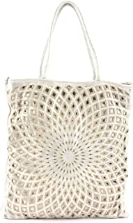Caterina Lucchi Geometric Laser Shopping White