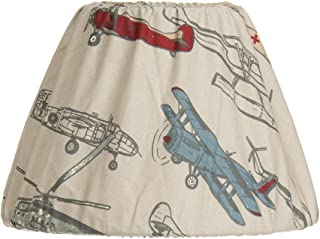 Glenna Jean Fly-by Lamp Shade Only, Airplane, 9