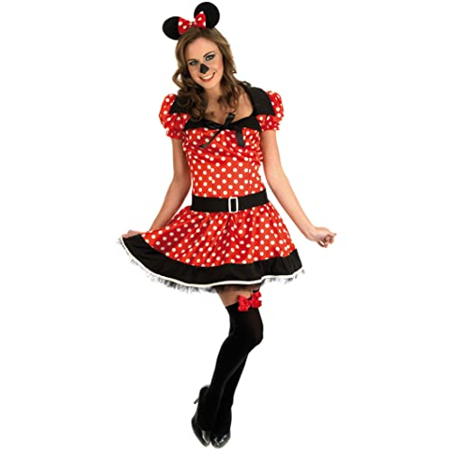 714552bcfdc5 Missy Mouse - Red - Adult Fancy Dress Costume - Medium - 12-14