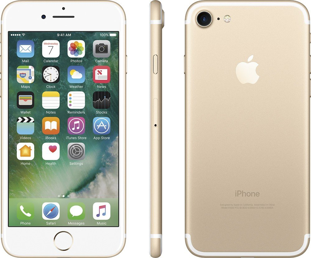 Apple iPhone 7 32GB (GSM Unlocked) 4.7-inch 12MP iOS Smartphone - Gold (Renewed)