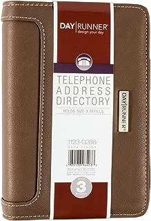 Day Runner Telephone/Address Book, 3-3/4