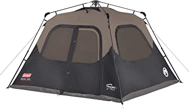 Coleman Cabin Tent with Instant Setup | Cabin Tent for Camping Sets Up in 60 Seconds (Certified Refurbished)