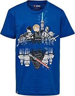 Lego Wear T-Shirt per Bambini e Ragazzi Langarmshirt Lego Star Wars Timmy 656