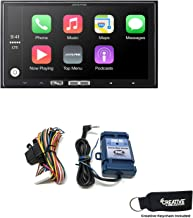 Alpine iLX-107 7 Inch Mech-Less Receiver Compatible with Wireless CarPlay & SWI-RC Steering Wheel Interface