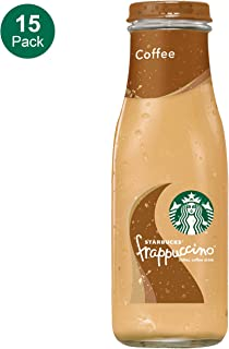 Starbucks Frappuccino, Coffee, 9.5 Fl Oz (15 Count) Glass Bottles