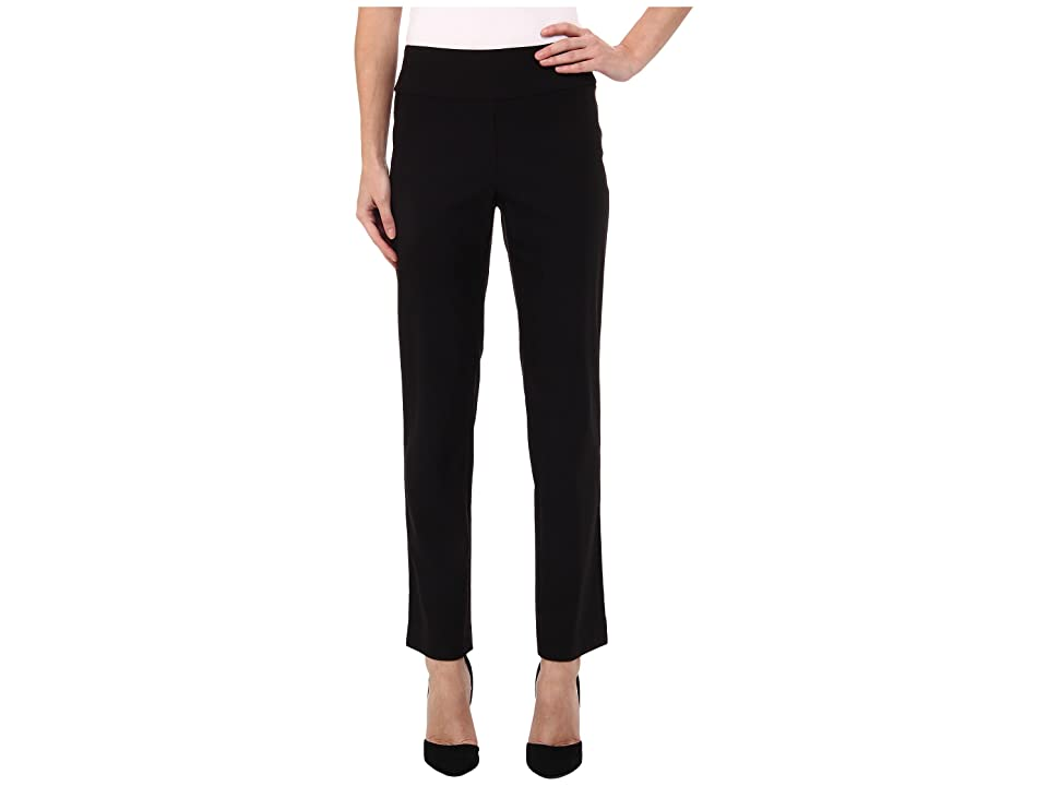 NIC+ZOE Petite Wonderstretch Pant (Black Onyx) Women
