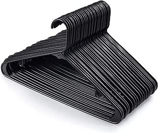 Best black plastic tubular hangers Reviews