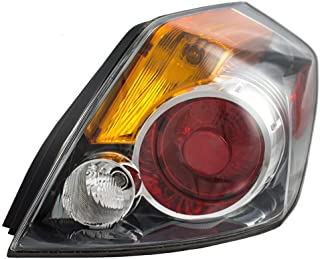 Passengers Taillight Tail Lamp Lens Replacement for 07-12 Nissan Altima Sedan 26550ZN50A