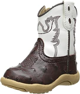 Cowbaby Ostrich Western Boot (Infant/Toddler)