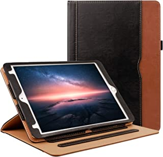 Grifobes iPad 7th Generation Case,iPad 10.2 2019 Case,[360 Protection] Premium Pu Leather Folio Cover Protective Case with Auto Wake/Sleep for iPad 10.2 inch 2019 Release (Black)
