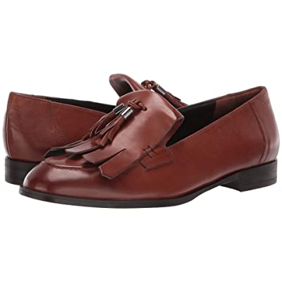 Paul Green Tam Flat (Cognac Leather) Women