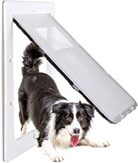 Petouch Pet Door for Dogs, Durable, Low-Maintenance, 15 x 20,Large