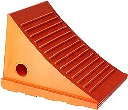 Roadblock UC1500-4.5 Impact-Absorbing Urethane Industrial Wheel Chock, Orange, 4.5 lbs, 11