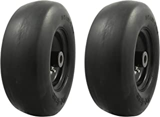 flat free front tires for zero turn mowers