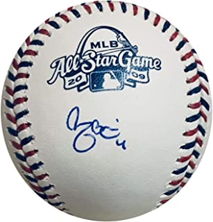 Yadier Molina Autographed St Louis Cardinals 2009 All Star Game Signed Baseball JSA COA With UV Protected Display Case