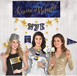 Midnight New Year's Eve Photo Booth Kit