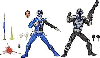 Power Rangers F1171 Lightning Collection S.P.D. Squad B Blue Ranger Versus Squad A Blue Ranger 2-Pack 6-Inch Premium Colle...