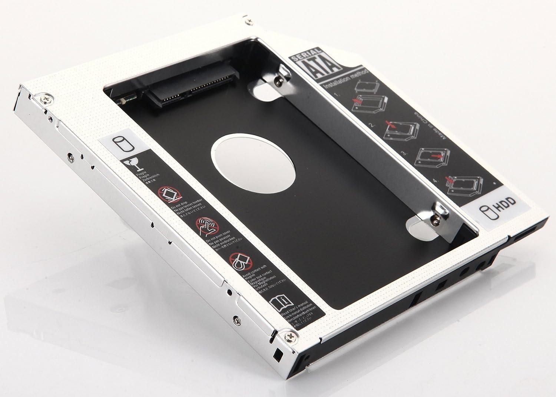 DY-tech 2nd HDD SSD SATA Hard Drive Optical Caddy for Dell Latitude E5430 E5510 E5530