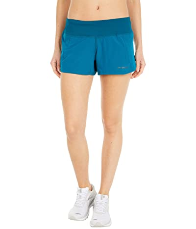 Brooks Chaser 3 Shorts (Deep Sea) Women