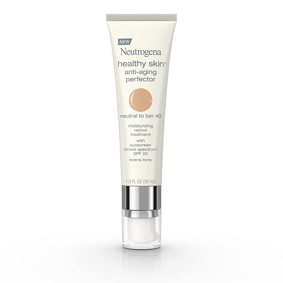 Neutrogena Healthy Skin Anti-Aging Perfector Spf 20, Retinol Treatment, 40 Neutral To Tan, 1 Fl. Oz.